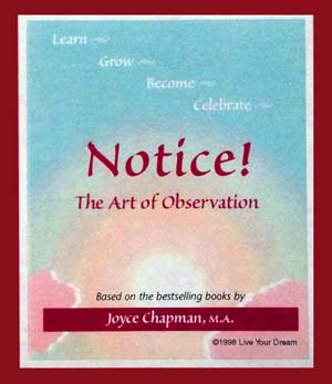 Notice! The Art of Observation Cards